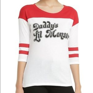 Suicide Squad Harley Quinn Daddy's Lil Monster Tee